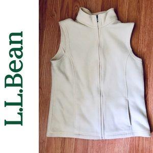L.L. Bean Lightweight Fleece Vest- Small